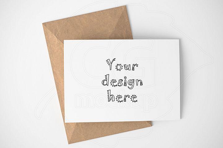 Greeting Card A6 Basic Mockup Png 111594 Mockups Design Bundles Free Psd Mockups Templates Mockup Free Psd Mockup Psd
