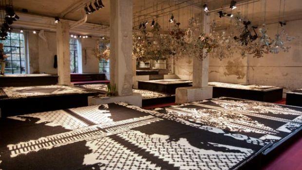 Antonio Marras e la tradizione tessile della Sardegna per una linea di tappeti contemporanei