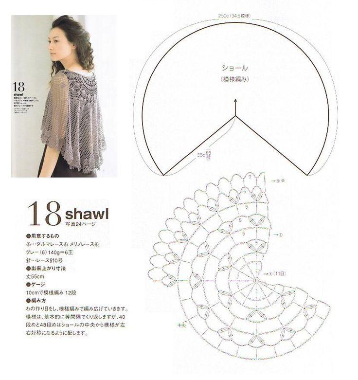Кружевная накидка| Шали, палантины и шарфы