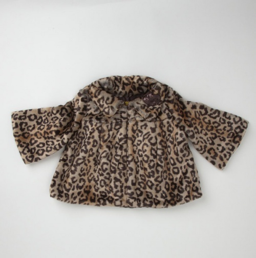 Girls faux Leopard jacket