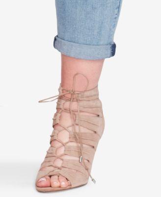 Jessica Simpson Trendy Plus Size Mika Ripped Jeans - Black 18W