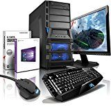 "sparen25.de , sparen25.info#10: shinobee Gaming-PC Komplett-PC AMD 8-Kern 8x4.20 GHz, GeForce GTX1060, 22"" LED, Tastatur+Maus,…sparen25.com"