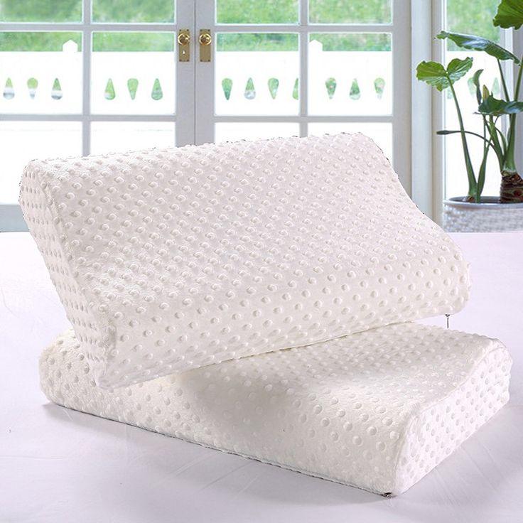 cheap wholesale moulded visco elastic memory foam pillow