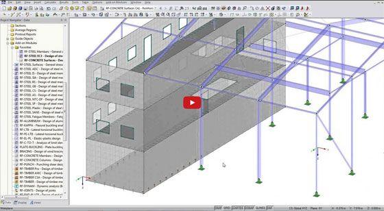 BIM integration with finite element analysis and Design Software RFEM: http://bimoutsourcing.com/BIM-integration-with-finite-element-analysis-and-design-software-RFEM.html