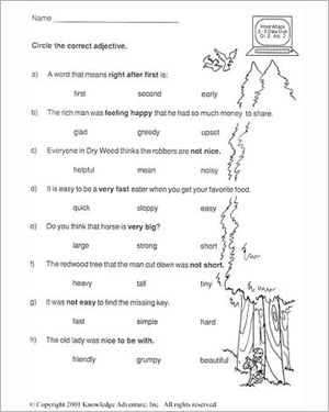 17 Best images about Reading Worksheets on Pinterest   First grade ...