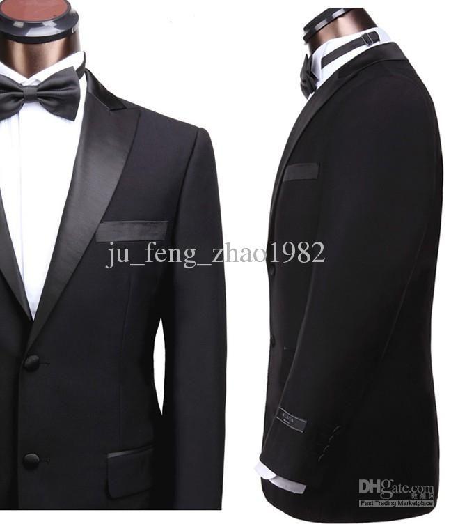 17 best ideas about Black Suit Groom on Pinterest | Black suit ...
