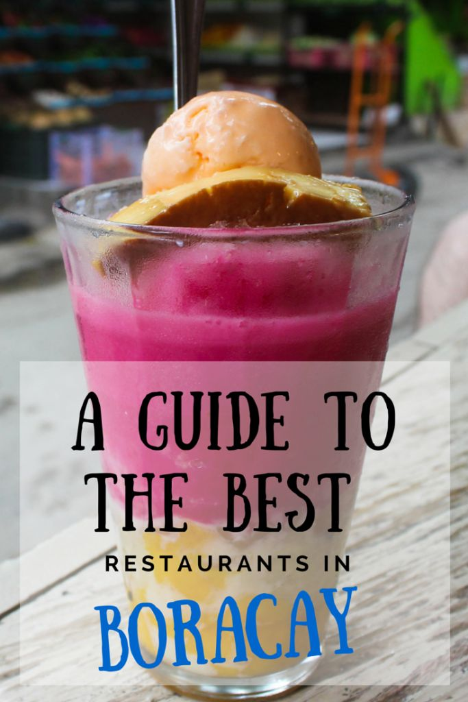 A Glutton's Guide to Eating Your Way Through Boracay