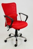 Brasil Mesh Ergonomic Red Office Chair only £79.99 from http://www.lakeland-furniture.co.uk/office-chairs/brasil-red-office.html