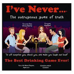 I've Never board game: Adult Version