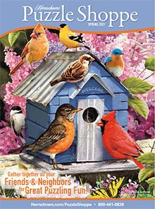 Herrschners - Gifts catalog for puzzles, craft kits, and collectibles PLUS a 10% off coupon