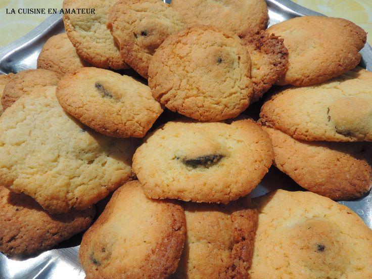 La cuisine en amateur de Maryline: Biscuits au croquant de myrtilles