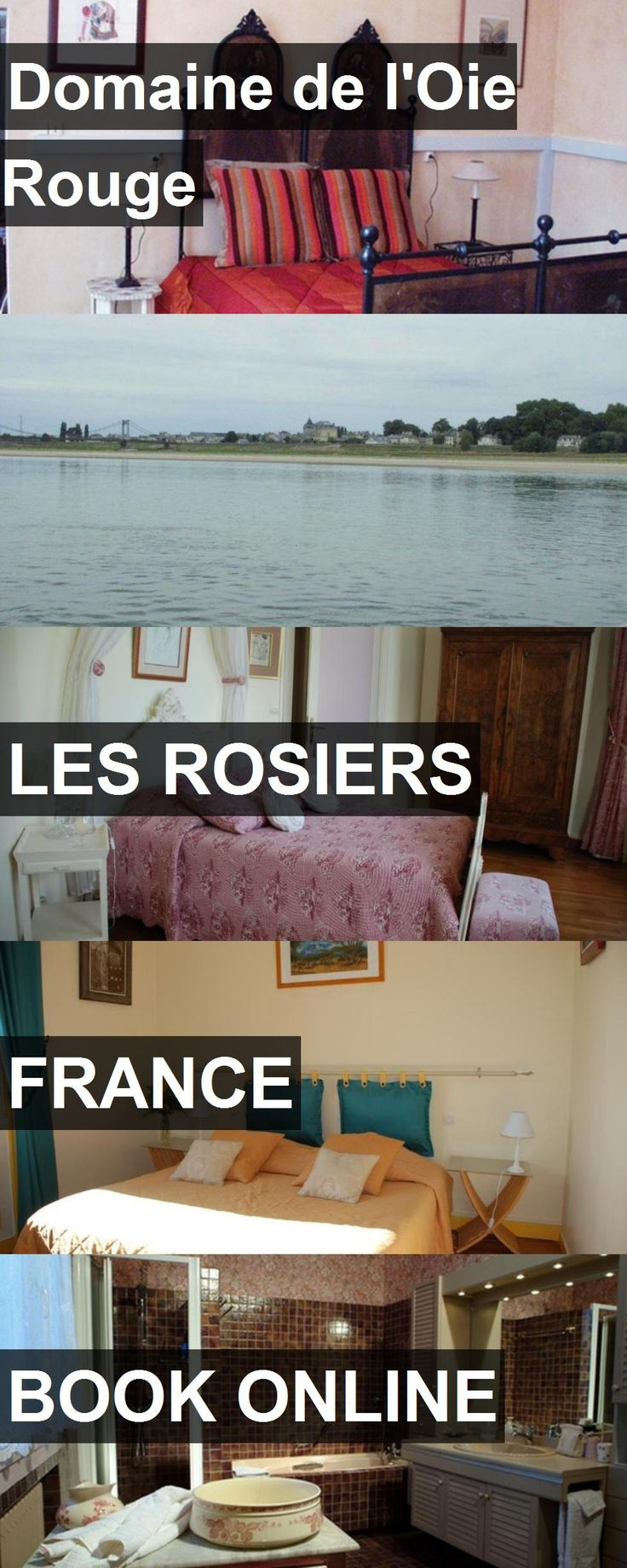Hotel Domaine de l'Oie Rouge in Les Rosiers, France. For more information, photos, reviews and best prices please follow the link. #France #LesRosiers #travel #vacation #hotel
