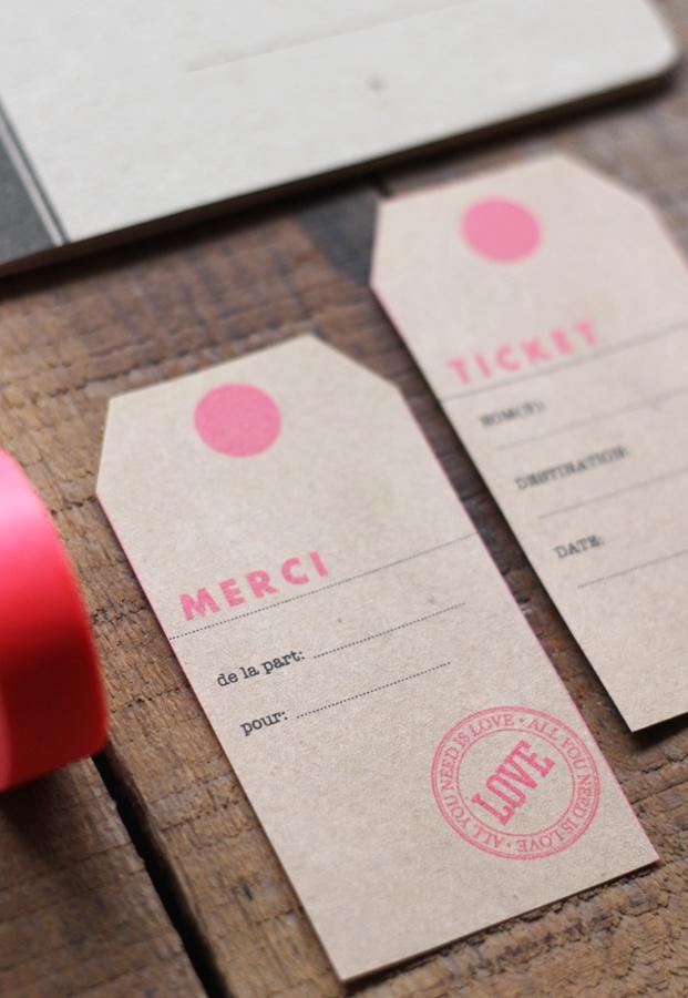 ©La mariee aux pieds nus - Mister M Studio - Tag - Free printable