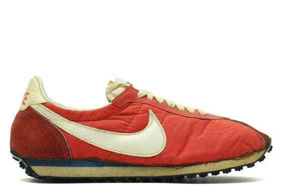 NIKE Waffle Trainer 1975-76 | Japan | Running   The Collection of Jed L.                                                                                                                                                                                 More