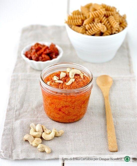 Pesto di pomodori secchi e anacardi   casadivita.despar.it