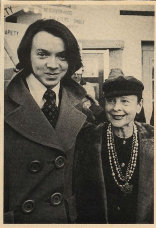 Harold and Maude (Bud Cort and Ruth Gordon)