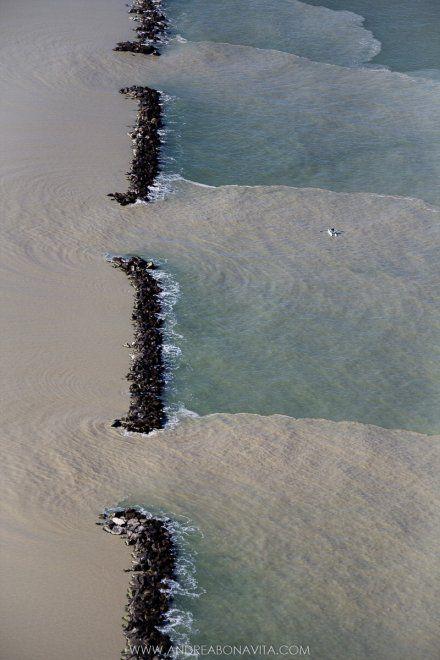 Lidi Ravennati dopo una mareggiata