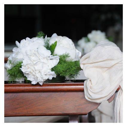 addobbi nozze chiesa ortensie bianche - fotografie maison di veronica masserdotti ©