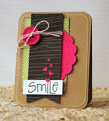 Card by Amy Sheffer (Pickled Paper Designs)