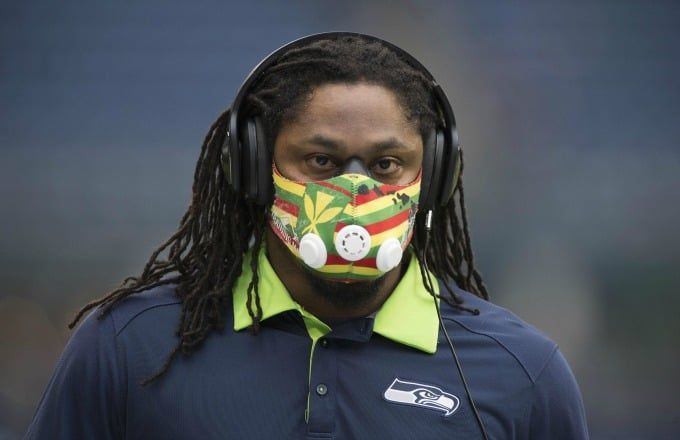 Marshawn Lynch Is Apparently in Charge of Helping Seahawks Players With Their…