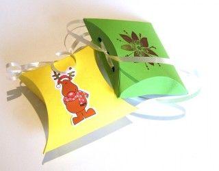 Школа Рукоделия Баунти - Урок - упаковочные коробочки