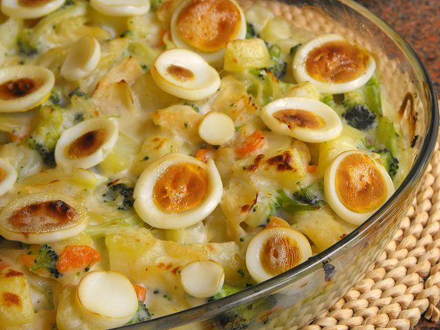 Rico em legumes e sabor, um prato tradicional português adaptado aos nossos dias