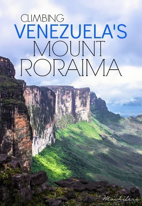 The six-day trek to the top of Mount Roraima, Venezuela's largest table…