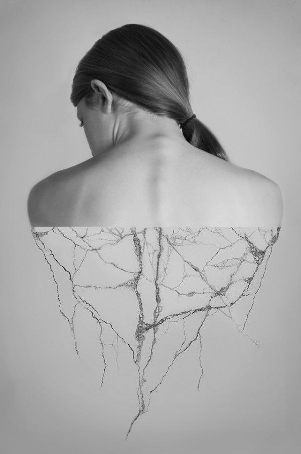 ALEXANDRA BELLISSIMO HUMAN & NATURE COLLAGES