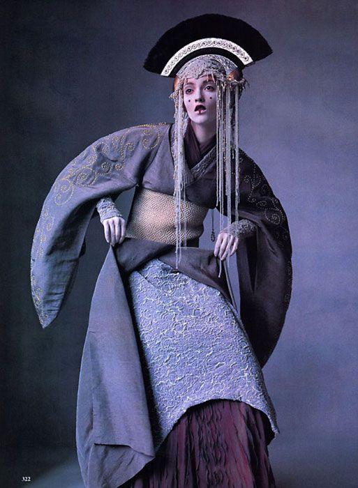 star wars couture - Vogue '99 - amidala!