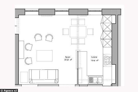 De 4 à 18 m2 : ces 12 cuisines ont été réaménagées par deux architectes d'intérieur. Leur préoccupation : l'optimisation de l'espace. Zoom avec plans et photos sur ces cuisines...