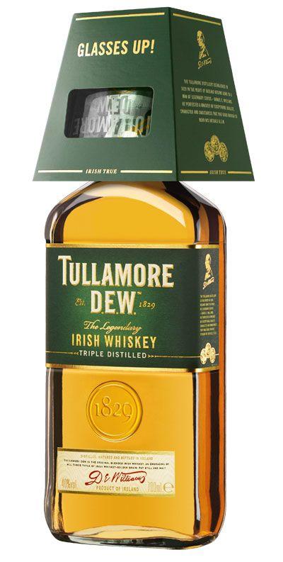 Neste Natal surpreenda com o whiskey irlandês Tullamore D.E.W.