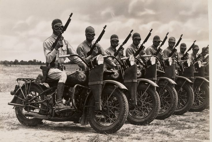 WWII Harley Davidson WLA Motorcycle This is what kicking a$$ really looks like.