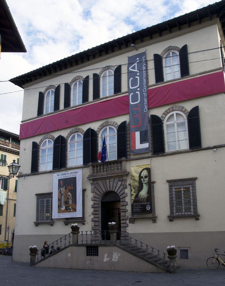 La facciata del Lu.C.C.A. Museum!