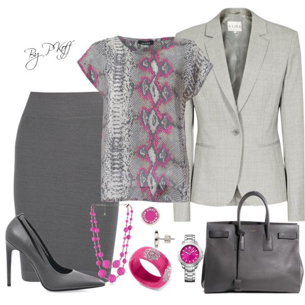 """Office Attire"" by pkoff on Polyvore"