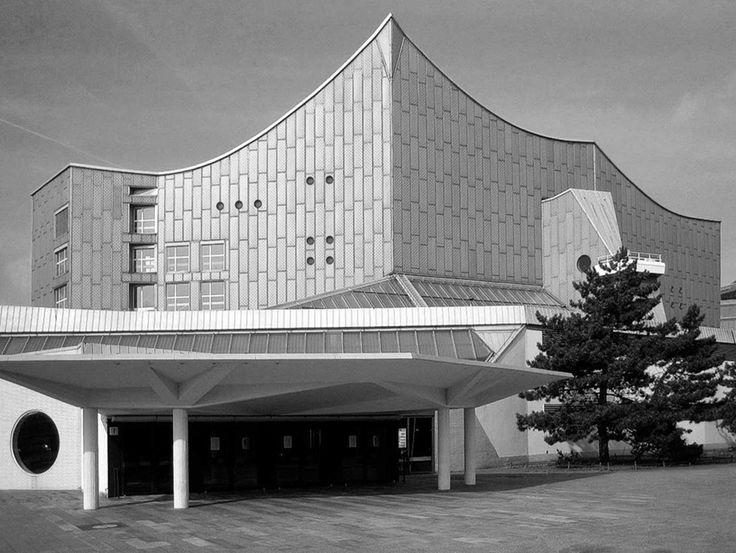 hans scharoun - philharmonic concert hall, berlin, 1956-63