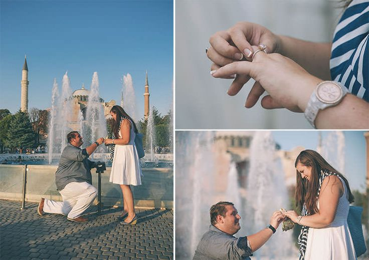 Proposal in Istanbul Turkey