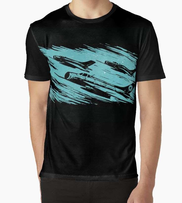 """Earth Aerospace Force"" Graphic T-Shirt on Redbubble"
