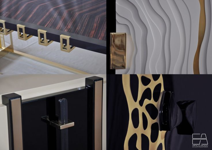 'Antitheses' collection furniture details