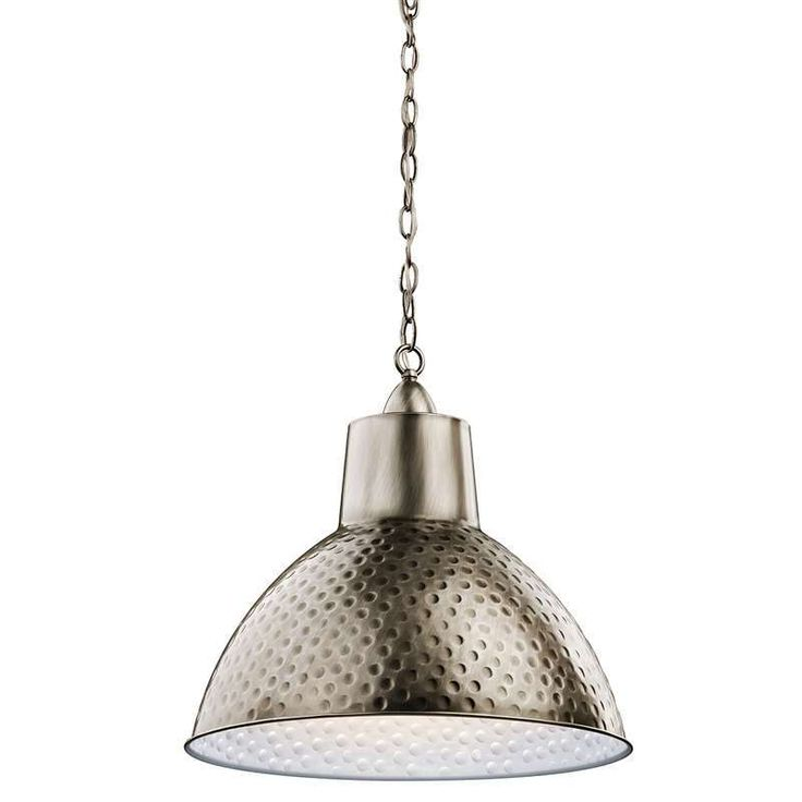 Kichler Lighting 42800AP Missoula Transitional Pendant Light In Antique Pewter