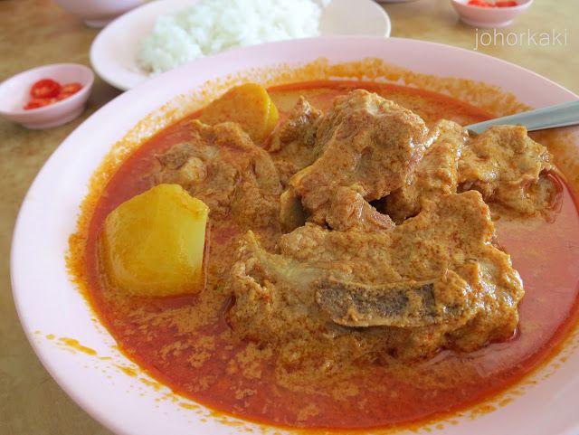 Qiu Bo Curry House in Ulu Tiram, Johor 秋波咖喱之家