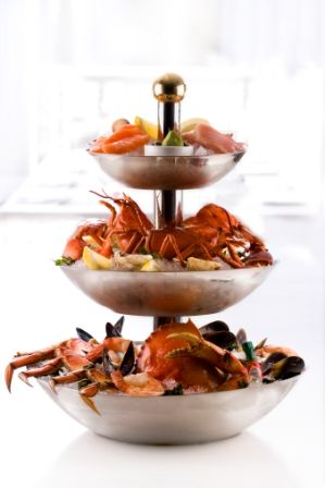 1000 Images About Seafood Tower On Pinterest Scallops