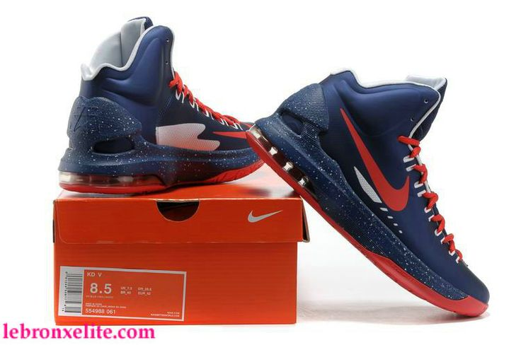 Kevin Durant Big Kid Size   Red Shoes