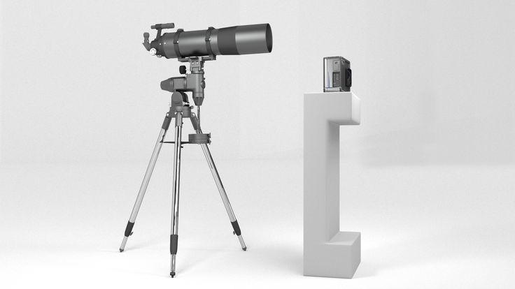 Traditional Telescope vs. Blade Optics Telescope. Design Rendering. Actual…