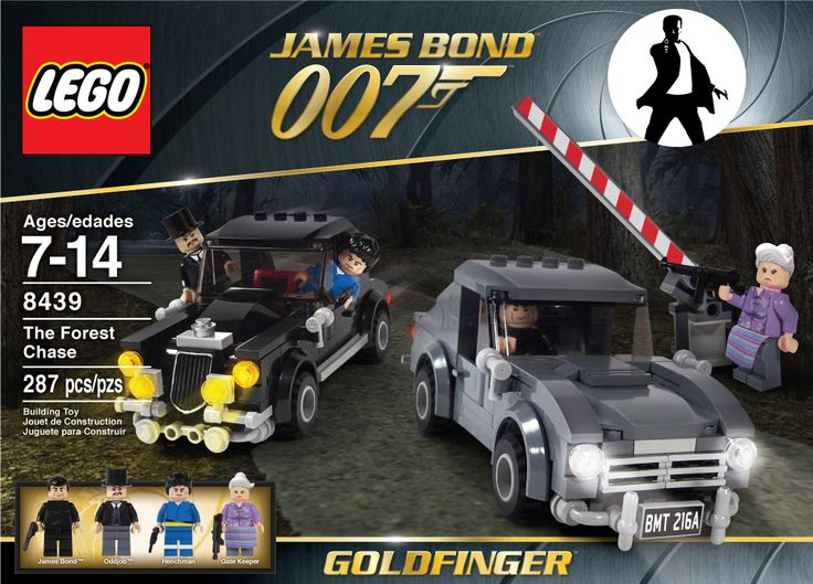 LEGO SET 8439 James Bond 007 Goldfinger | LEGO IN THE NEWS ...