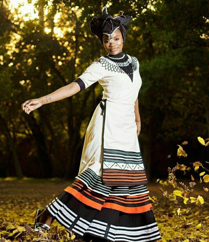 Stunning Xhosa attire #umbaco