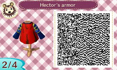 Hector – Fire Emblem | QRCrossing.com