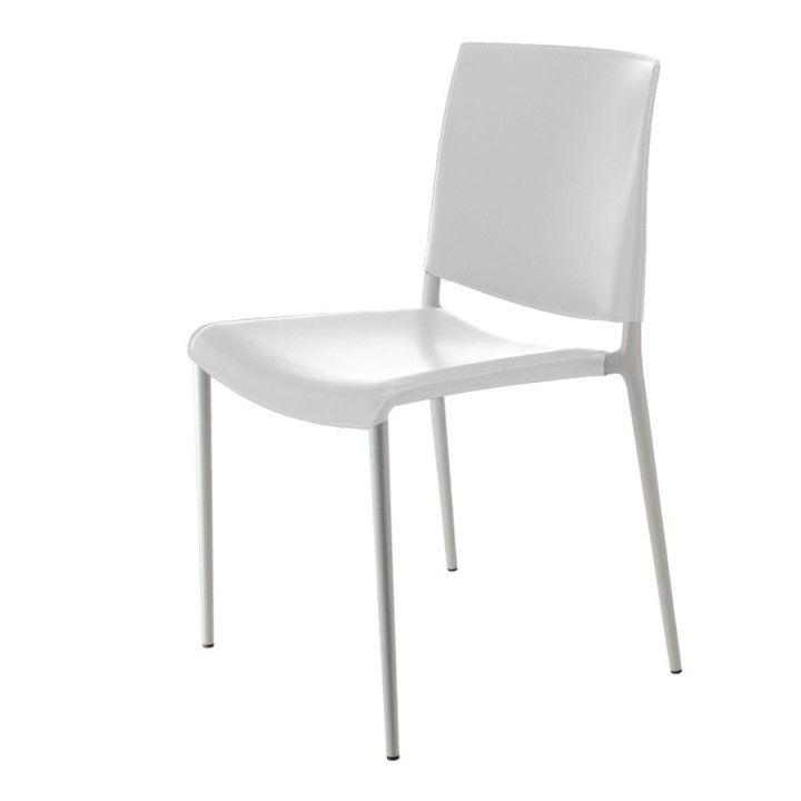 Jetzt bei Desigano.com Alexa Stapelstuhl Gestell lackiert (Set 2 Stk) Stühle, Konferenzstühle von Rexite ab Euro 502,00 € Alexa edler Designerstapelstuhl StapelbarerStuhl GestellGestell kratzfest lackiert in der selben Farbe wie Sitz und Rücken.Sitz und Rücken aus verstärktemPolypropylen UV-beständig, oder bezogenmit Leder oder Eco-Leder (Kunstleder). Die lackierte Ausführungen, wenn nichtbezogen, sind für den Außenbereichgeeignet. Verpackungseinheit: 2 Stück