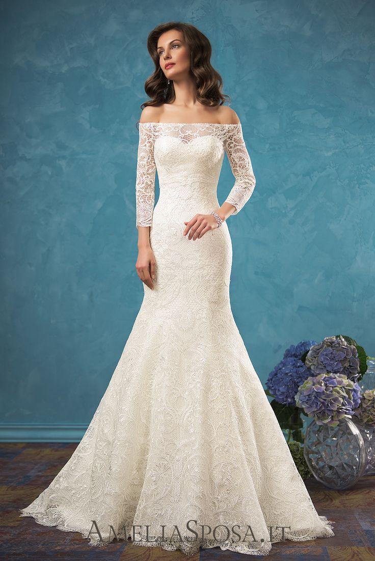 Wedding Dress Celia, Silhouette: Mermaid