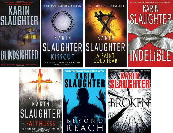 Karin Slaughter is easily the best author of crime thrillers I have ever read.  Her Grant County series is a mind blowing, sweaty, edge of your seat page turner from page one.  And, bonus, it is set in GA :)