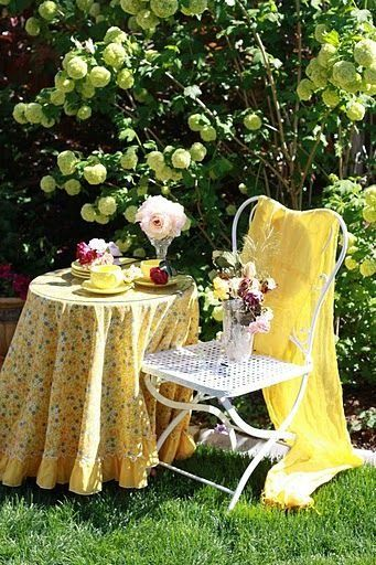 Yellow Summer Cottage